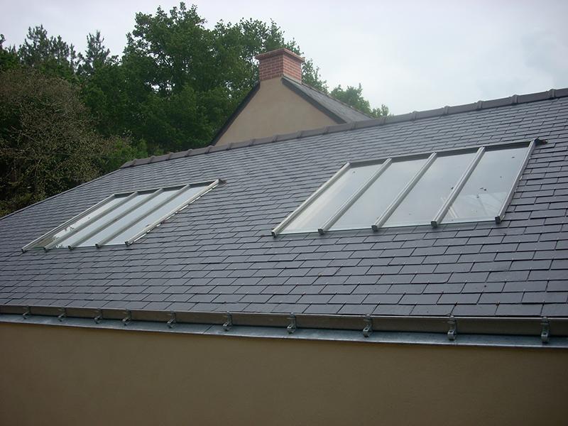 Artimétal - Châssis vitrés en toiture